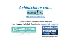 Finanziamento società benefit Homes4all